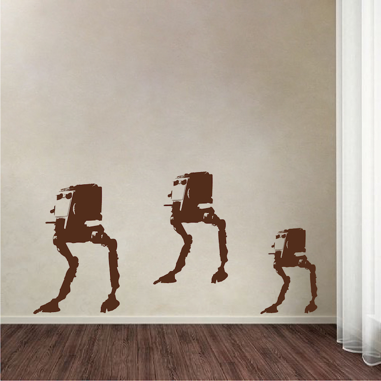 Walker Wall Decal Graphics. Zoom Part 96