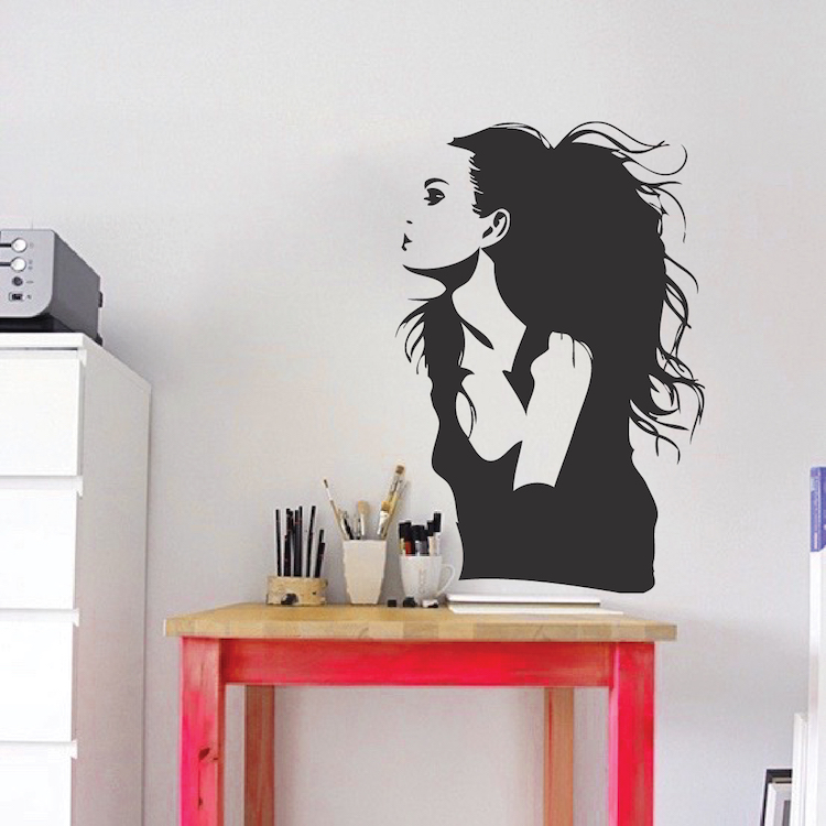 Jolie Wall Decal. Zoom