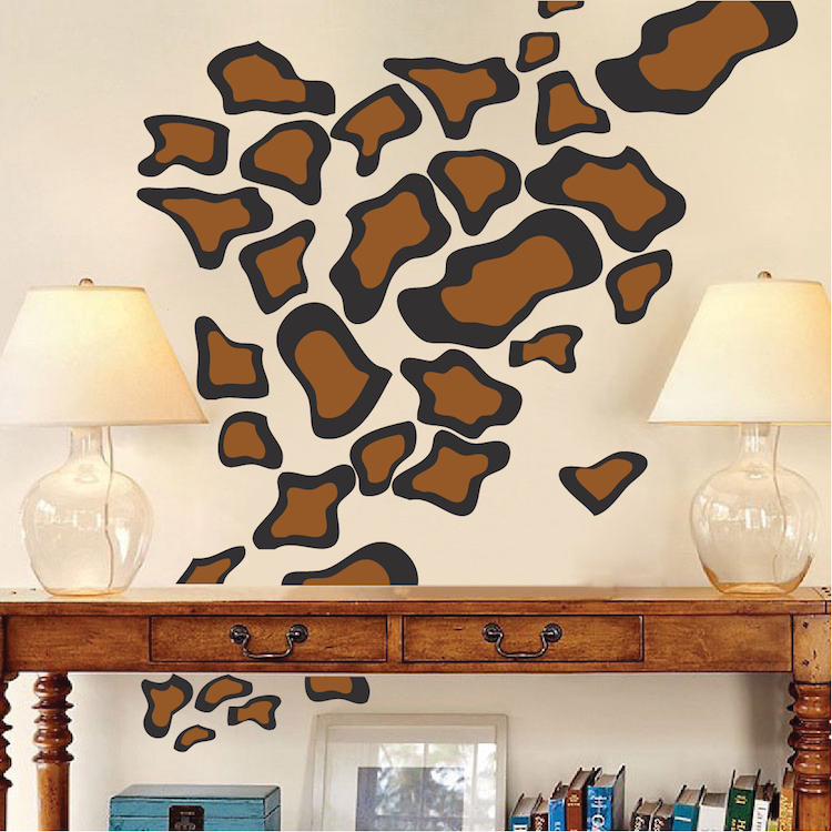 Animal Spots Vinyl Wall Decal Stickers Part 66