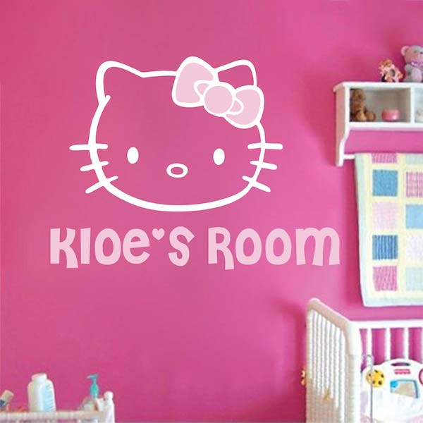 Hello Kitty Wall Decal. Zoom Part 35