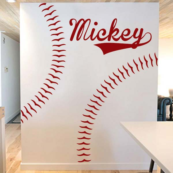 Delicieux Customizable Baseball Wall Decal. Zoom