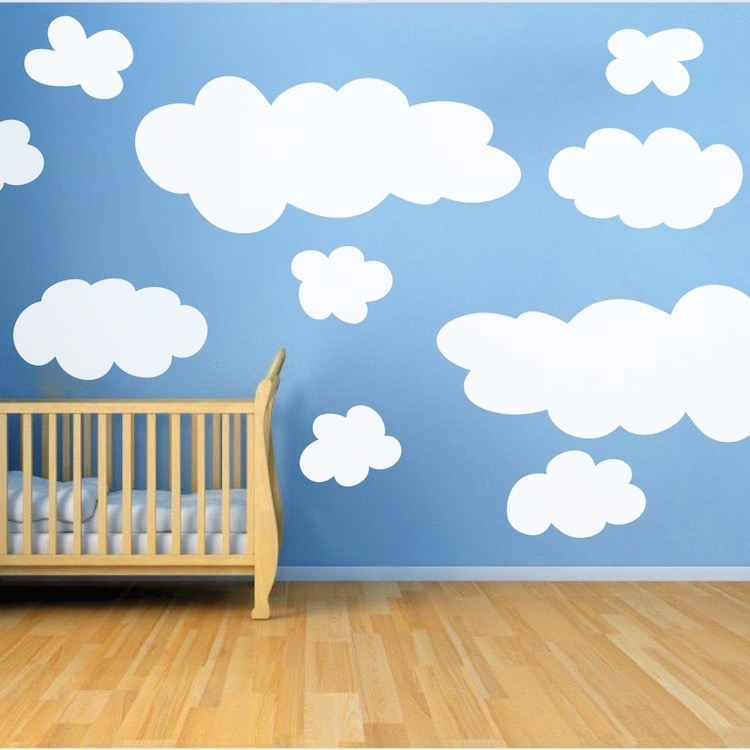 cloud wall decals stickers wall wall stickers wall transfers wall decals
