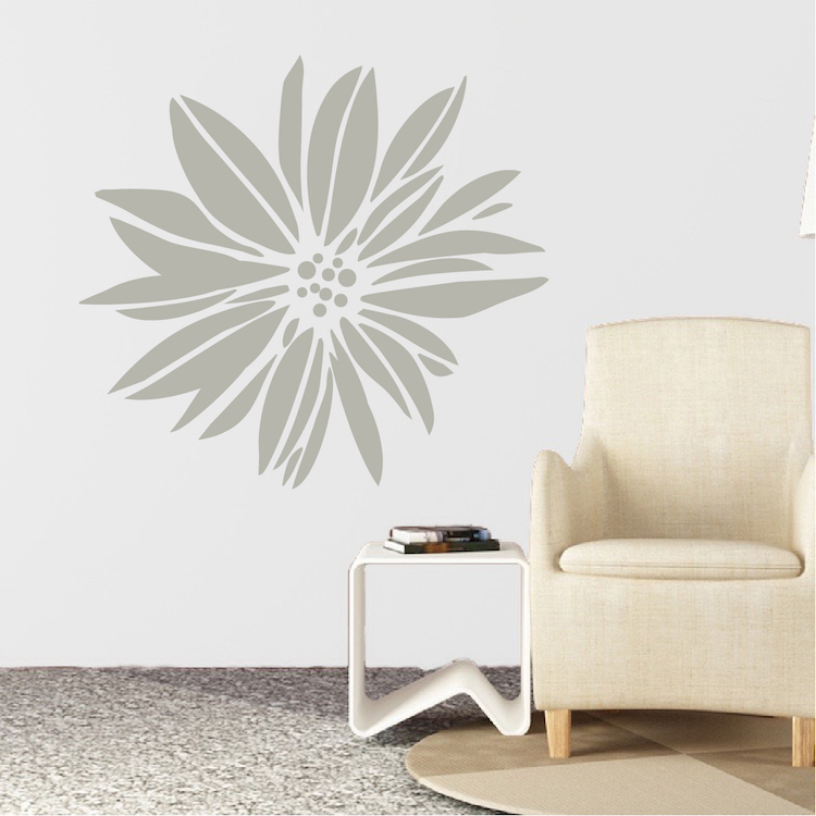 Exotic Flower Wall Decal & Floral Wall Art From Trendy