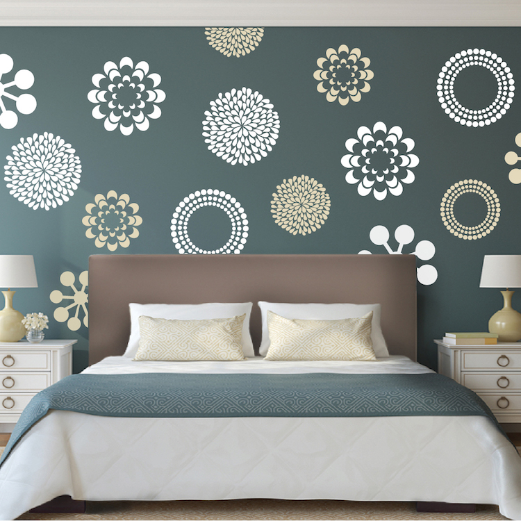 Prettifying wall decals from trendy wall designs Wall stickers for bedrooms