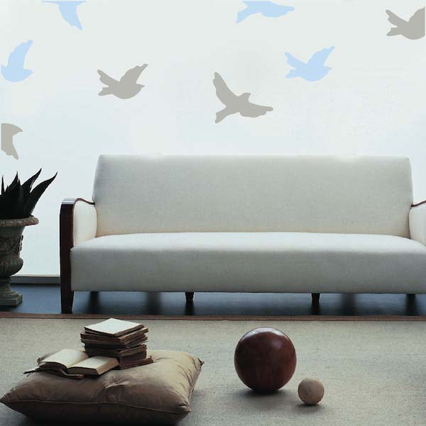 Flying Birds Wall Decals Trendy Wall Designs