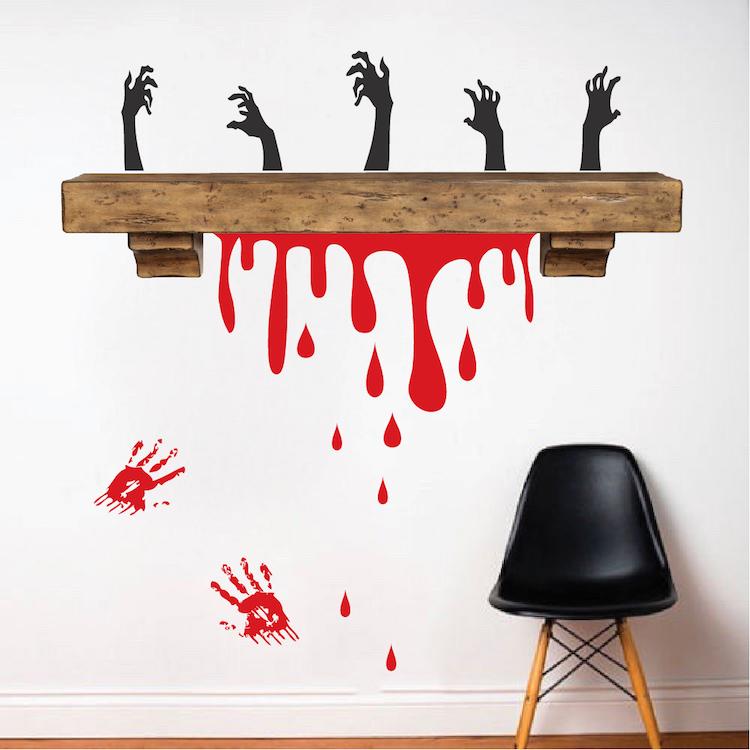 blood driping halloween decor zoom - Blood For Halloween