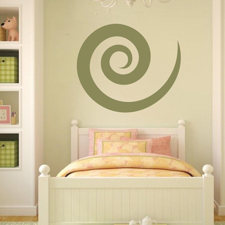 Cinnamon Swirl Wall Decal Trendy Wall Designs