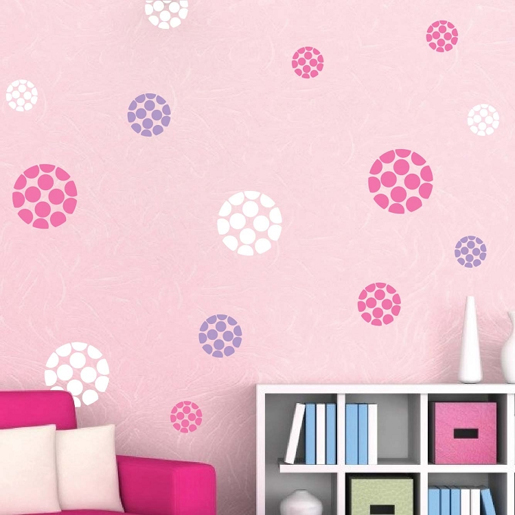 44 best photo of polka dot wall design ideas tierra este for Polka dot decorations for bedrooms