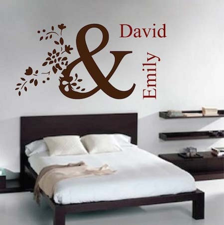 Personalized Wall Decal Trendy Wall Designs