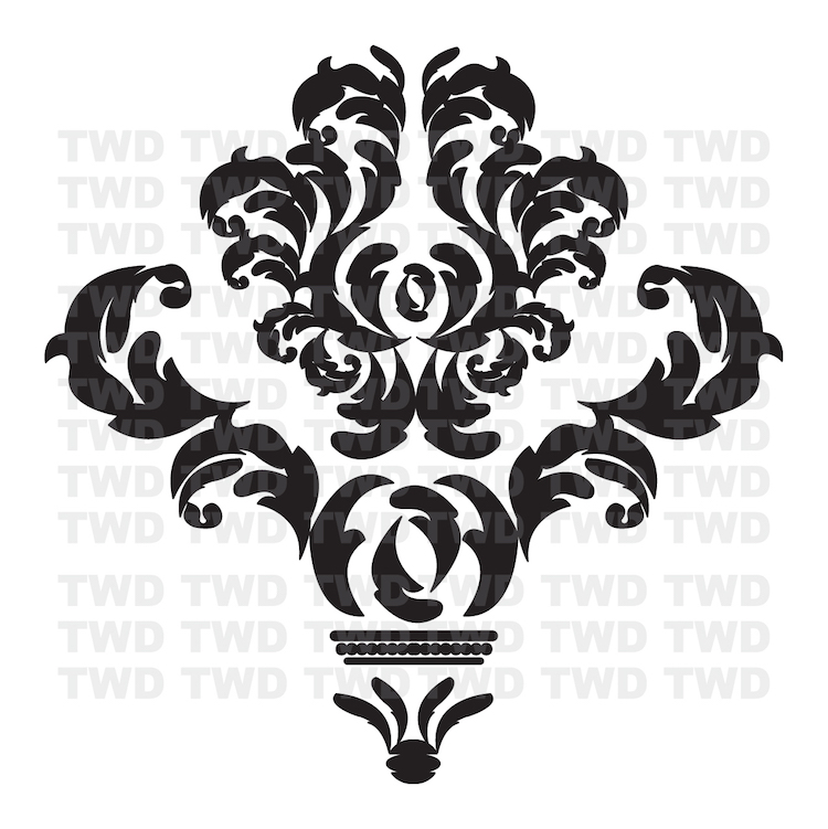 damask wall accent stickers damask wallpaper damak mlb milwaukee brewers decor mural wall accents stickers