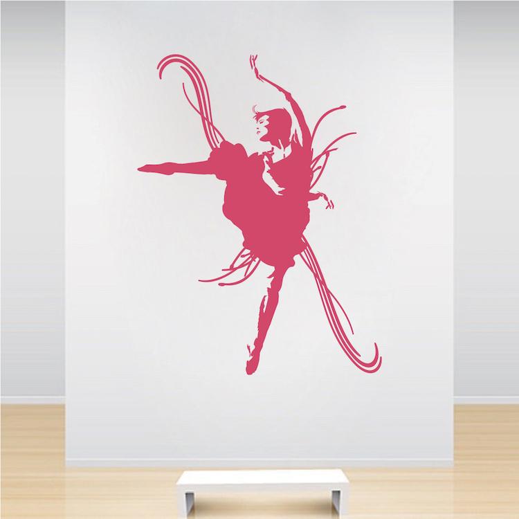 Dance Studio Decal Sticker Design Wall Murals Trendy Wall Designs