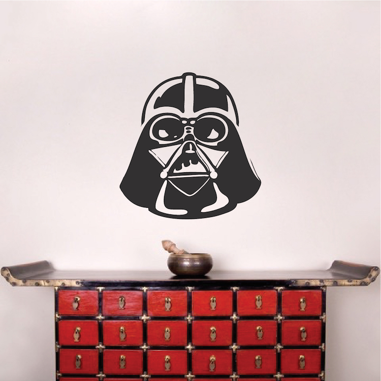 Darth Vader Interior Decal Sticker Star Wars Wallpaper