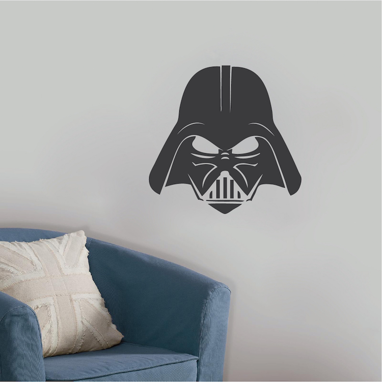 darth vader wall decal star wars wallpaper murals star wars stormtrooper darth vader vinyl wall stickers