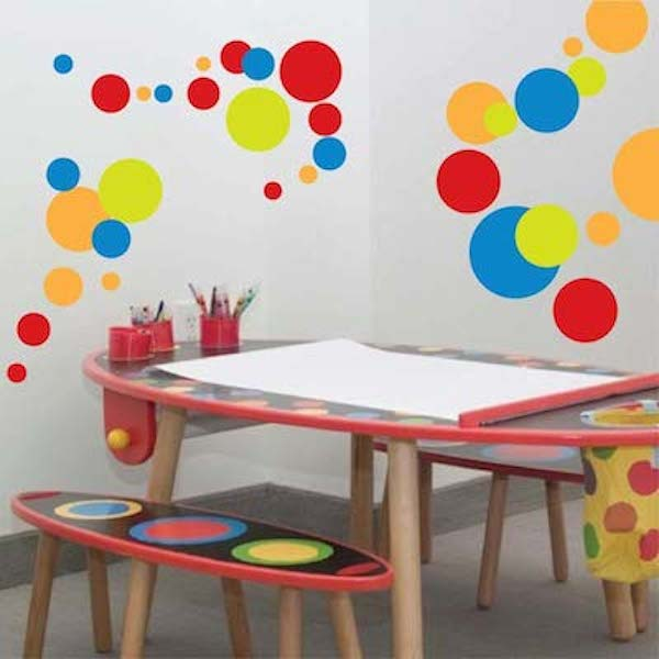 Cool Polka Dots Wall Art Design. Zoom