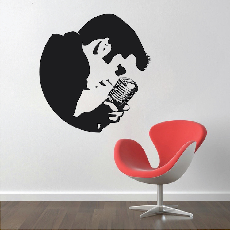 elvis wall decal zoom - Wall Decals Designs