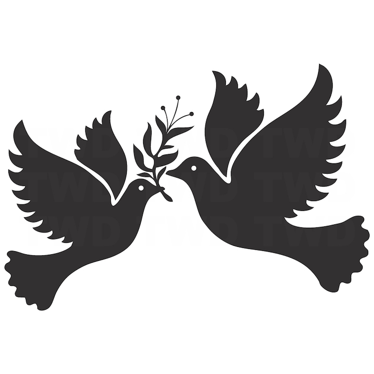 Freedom Birds Vinyl Decal Sticker Dove Birds For Walls High Quality Freedom Birds Bedroom