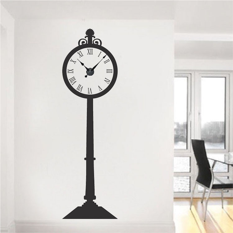 Grandfather Clock Decals Trendy Wall Designs