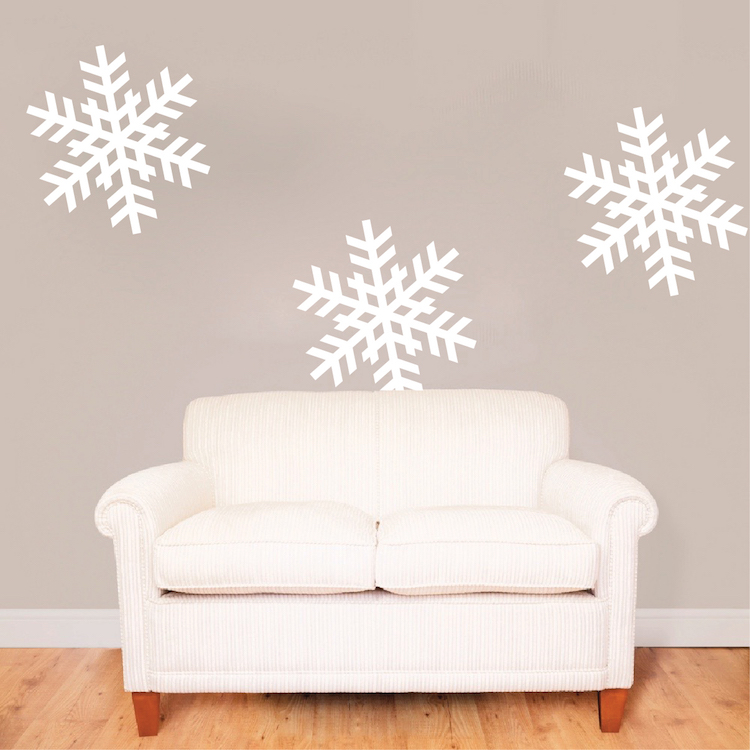 Charmant Self Adhesive Removable Snowflakes. Zoom