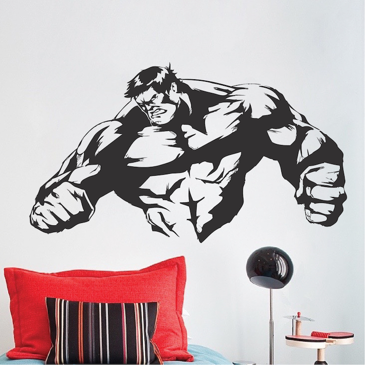 Strong Man Room Decal Stickers. Zoom