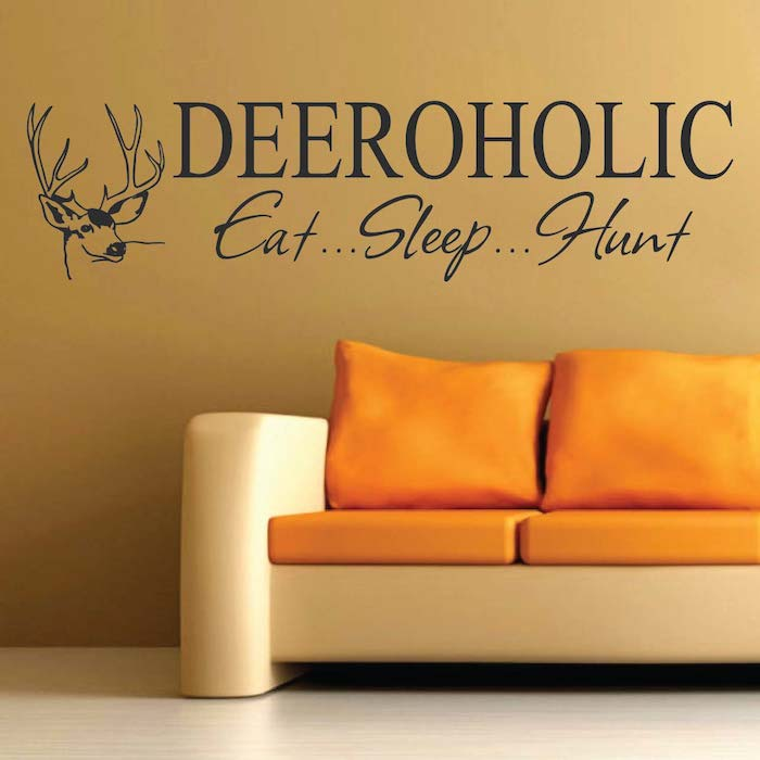 Deer wall sticker for Hunting wall decals