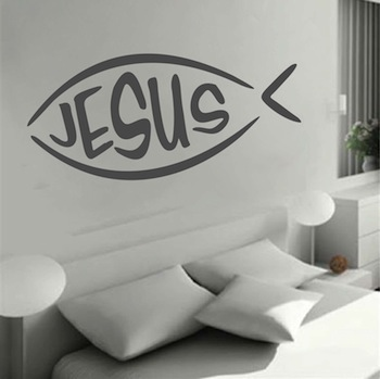 Jesus Fish Decal Sticker