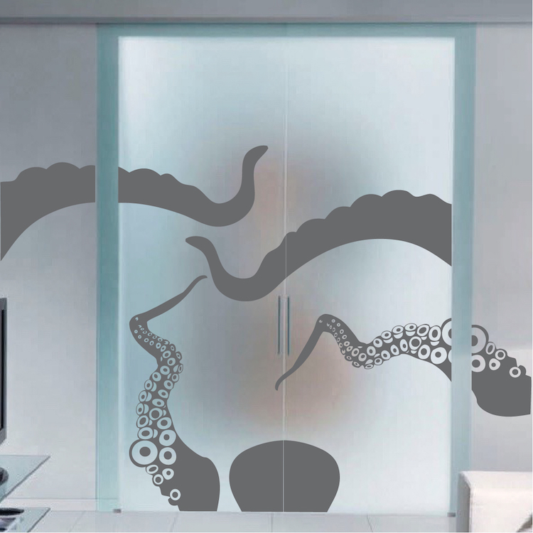 Large Octopus Vinyl Wall Decal Mural Trendy Wall Designs