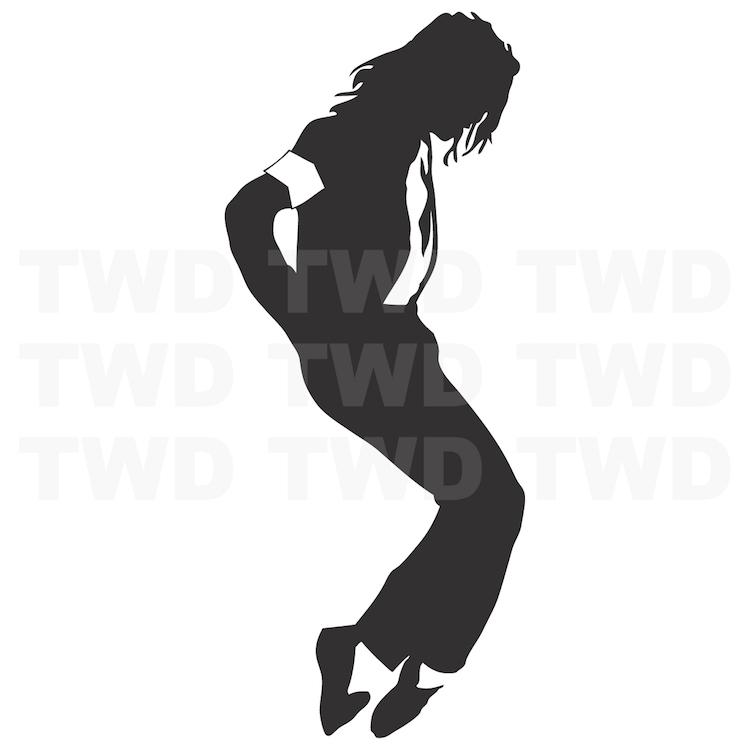 Michael Jackson Wall Art Mural _ Pop Star Singers Sticker Wall ...