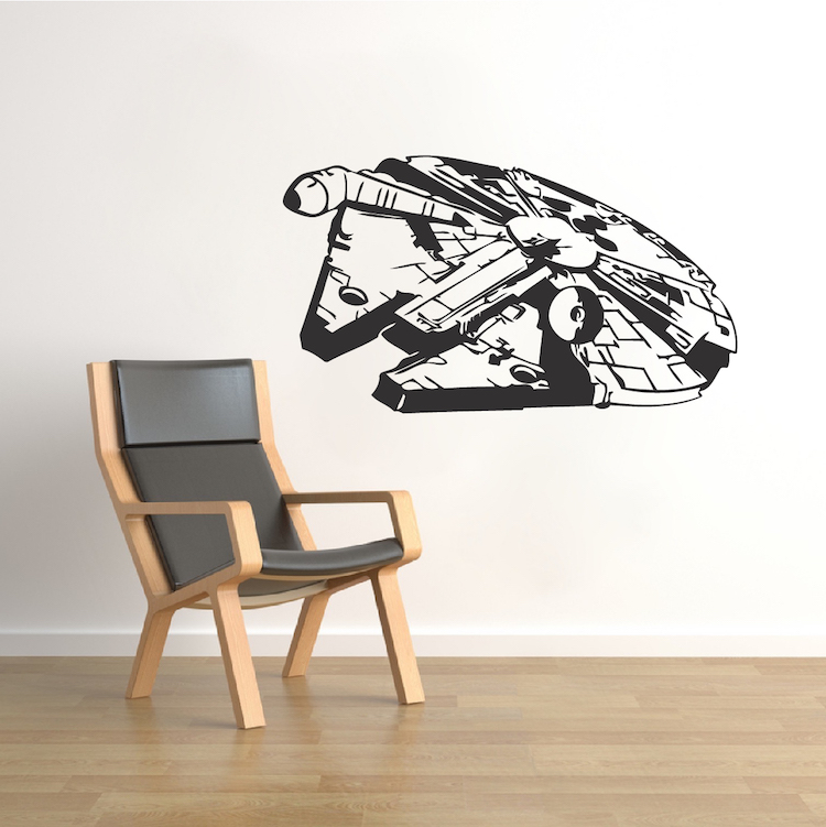 Millennium Falcon Wall Decal. Zoom Part 47