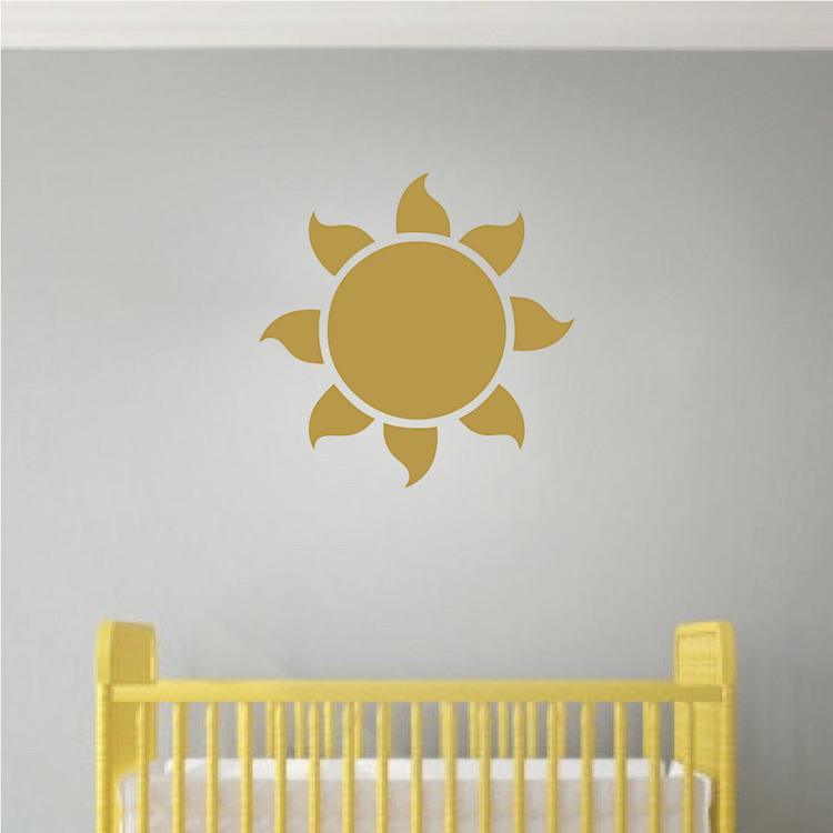 Sun Vinyl Wall Decal Sticker