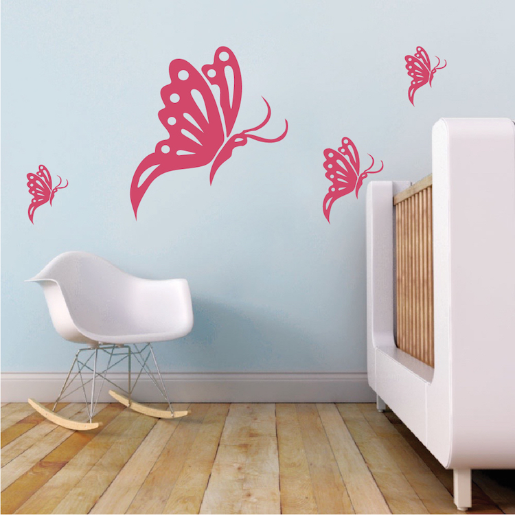 Butterfly Wall Decals Trendy Wall Designs