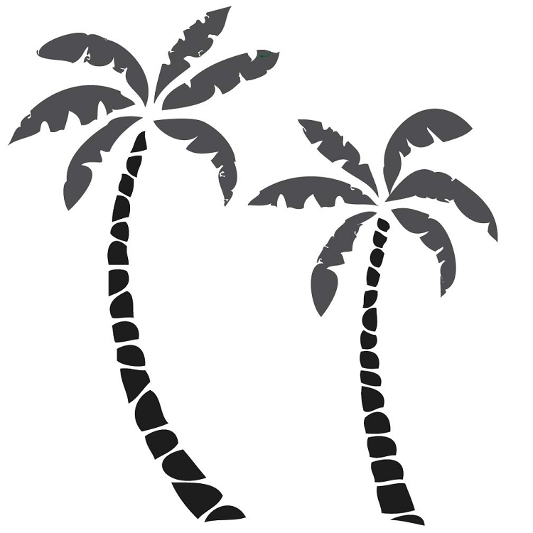 Palm Tree Wall Decals Part 72