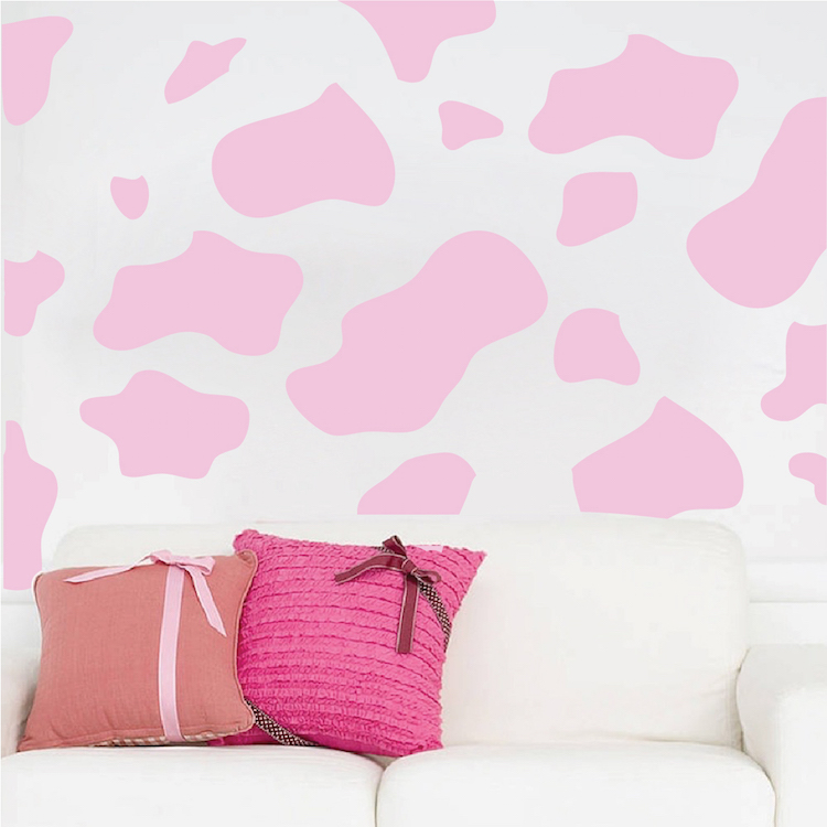 Animal Spots Vinyl Wall Decal Stickers Sow And Cheetah Spot Wall