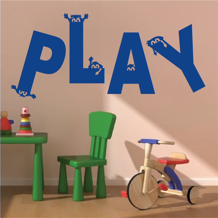 Superior Play Room Vinyl Wall Decal Sticker. Zoom