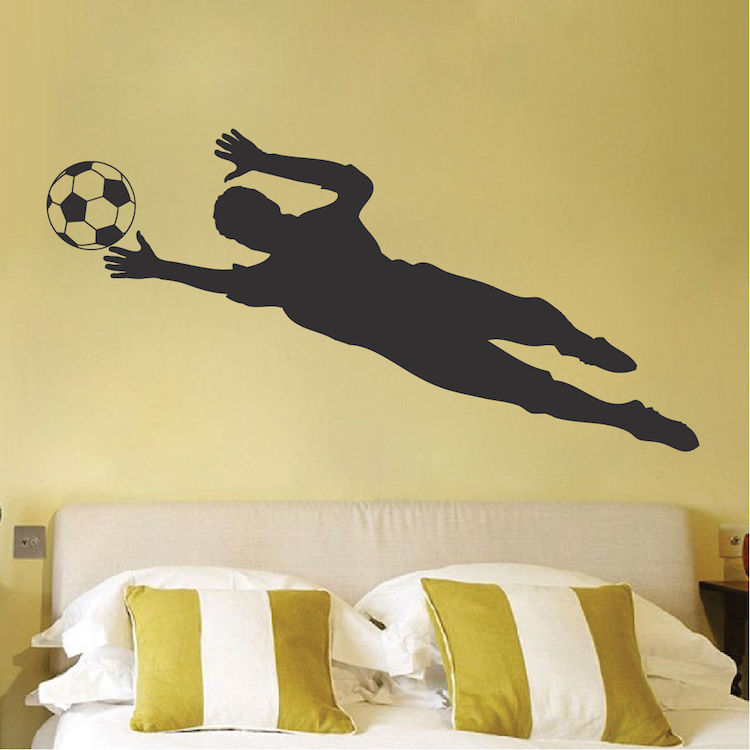 Soccer Goalie Wall Decal Sticker Sport Murals Trendy Wall Designs
