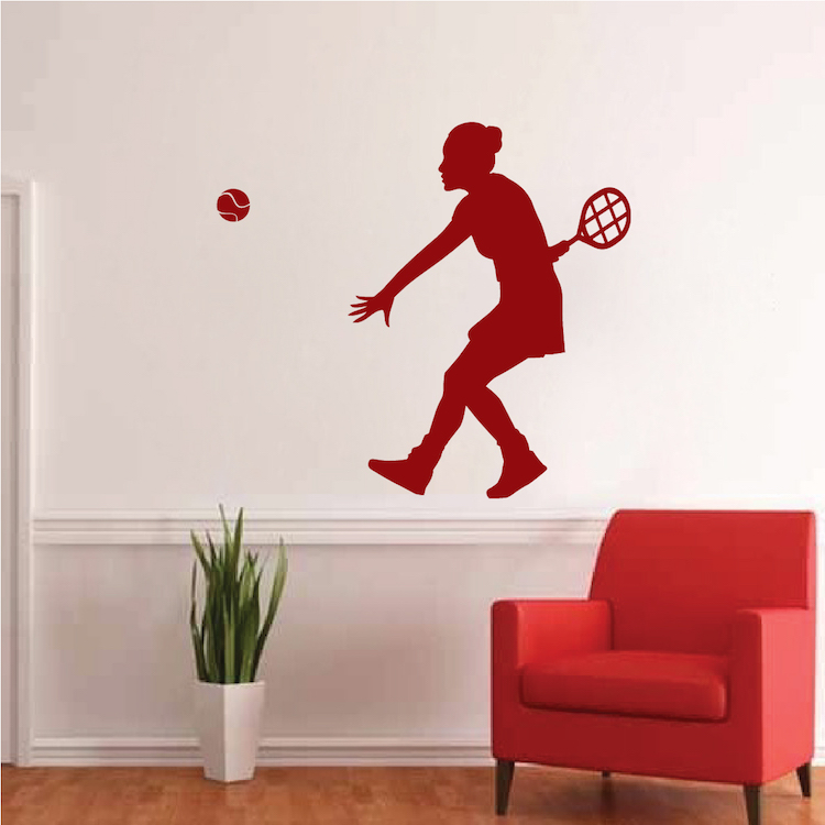 Tennis Wall Decal Sport Designs For Walls Trendy Wall