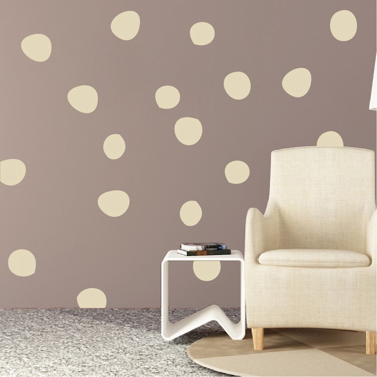 Uneven Dots Room Decal Stickers Zoom
