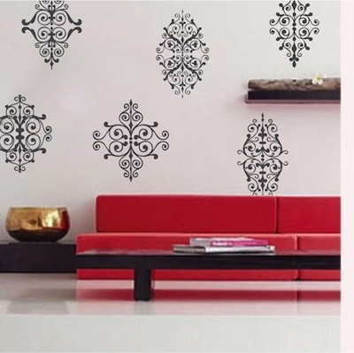 Rustic Ornament Wall Decals Trendy Wall Designs