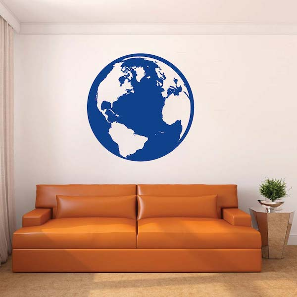Classic Globe Wall Decal & Vinyl Wall Art From Trendy Wall Designs