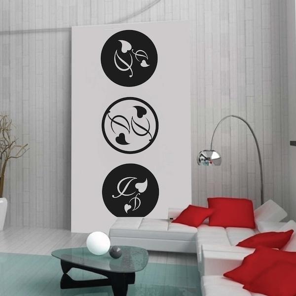 Circular Adornment Wall Decals Trendy Wall Designs