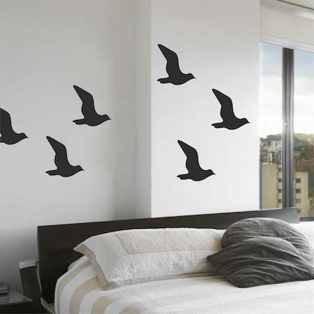 Wall Decals Designs contemporary evolution dots wall decal contemporary wall decals Seagull Bird Wall Decals Zoom