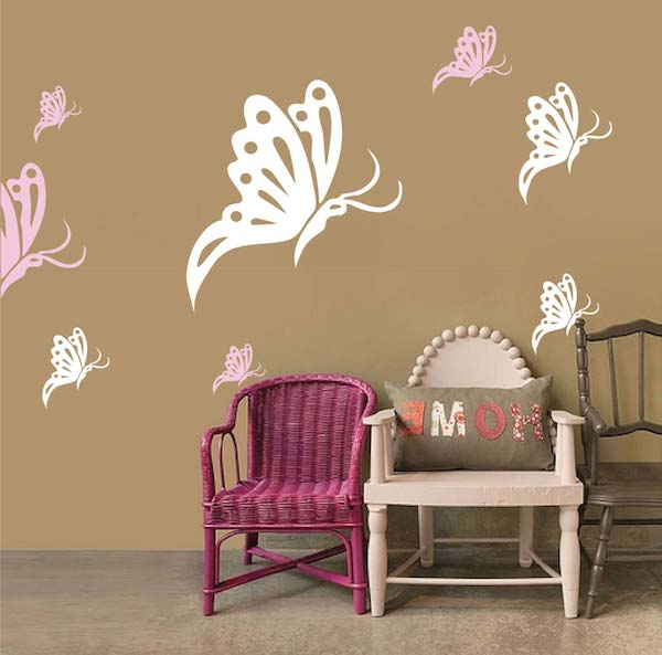 Butterfly Wall Decals. Zoom