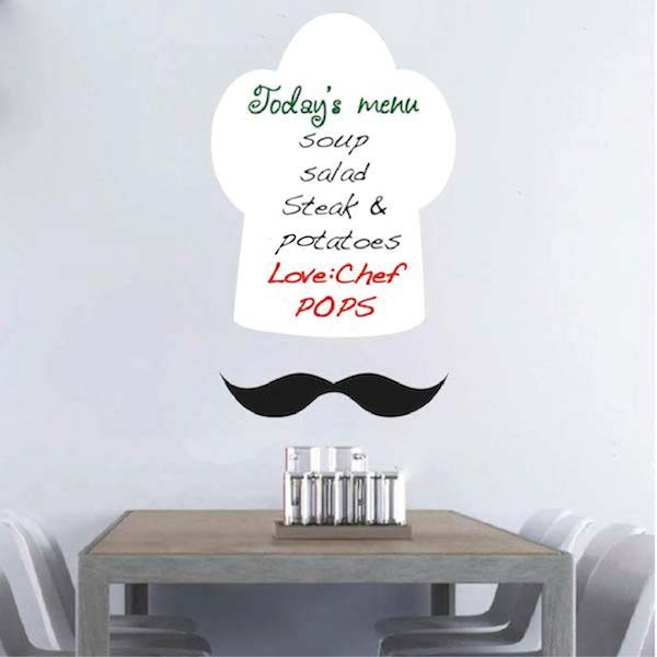 Chef Hat Dry Erase Wall Decal. Zoom