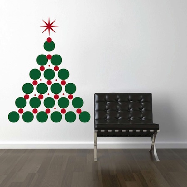 Amazing Christmas Tree Wall Decal. Zoom