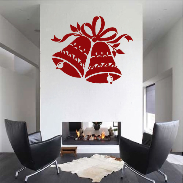 Christmas Bells Wall Decal. Zoom