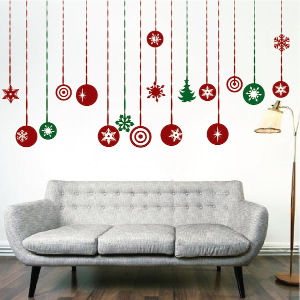 Wall decoration christmas christmas lights card and decore - Christmas wall decorations ...