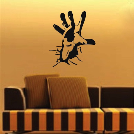 reaching out hand wall art design zoom - Wall Art Design Decals
