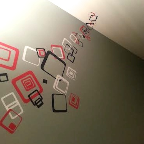 Multiplex Square Wall Decals - Trendy Wall Designs