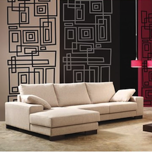 Modern Lines Wall Decals. Zoom Part 42