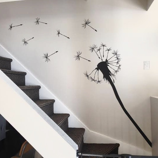 Dandelion Wall Decal | Trendy Wall Designs