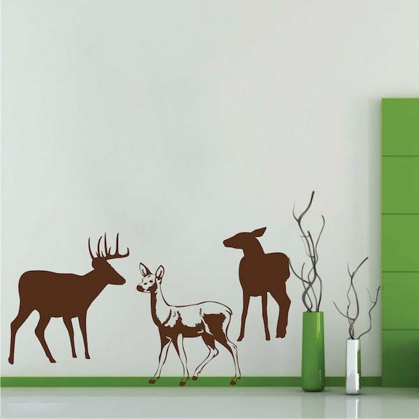 Deer Wall Decals. Zoom
